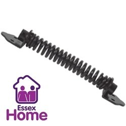 "8"" Black Gate Spring - Door Closure 200mm"