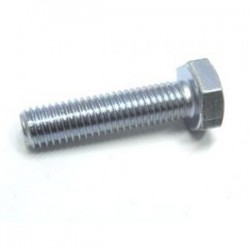 M6 X 25 HEXAGON SET SCREWS ZINC - BZP 8.8 HT