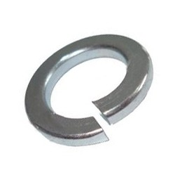 M4 SPRING COIL WASHERS STAINLESS STEEL A2