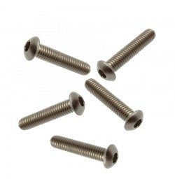 M5 X 8 SOCKET BUTTON SCREW A2 STAINLESS STEEL (304)