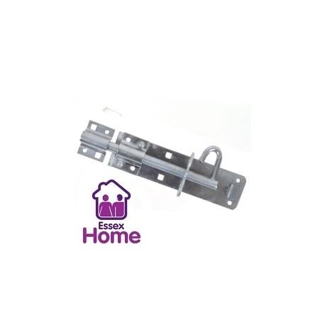 """6"""" Brenton Pad lock bolt Padbolt 150mm - Galvanised"""