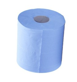 Blue Centrefeed Paper Pull Rolls (6 pack)