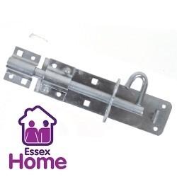 """8"""" Brenton Pad lock bolt Padbolt 200mm - Zinc"""