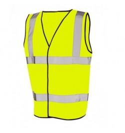 Keep Safe High Visibility EN 471 Sleeveless Waistcoat Hi-Vis