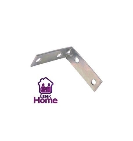 "1"" Zinc Plated Corner Brace - Steel 25mm"