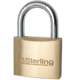 25mm Sterling Brass Padlock