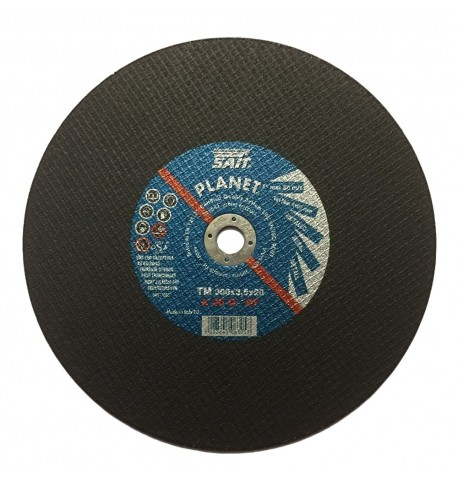 "Sait 300 x 3 x 20mm Flat Metal Cutting Disc 12"" - 10 Pack"