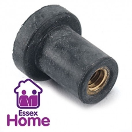 M5 X 15MM RUBBER CAVITY NUTS - WELL NUT