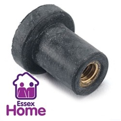 M6 x 25MM RUBBER CAVITY NUTS - WELL NUT